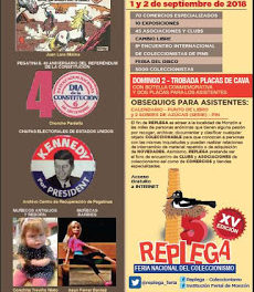 MONZÓN. Replega, Salón nacional del coleccionismo (días 1 y 2 de septiembre)