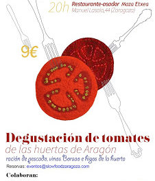 Degustación de tomates (jueves, 30)