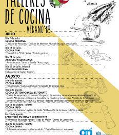 VILLANÚA. Curso de aperitivos en copa y brocheta (sábado, 18)