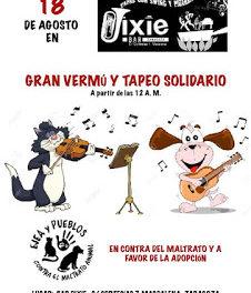 Vermú solidario (sábado, 18)