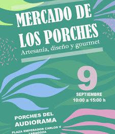 Mercado de los Porches (domingo, 9)