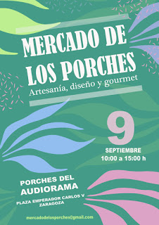 Mercado de los Porches (domingo, 9)