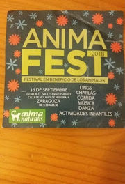 AnimaFest 2018, festival en beneficio de los animales (domingo, 16)