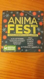AnimaFest 2018, festival en beneficio de los animales (domingo, 16)
