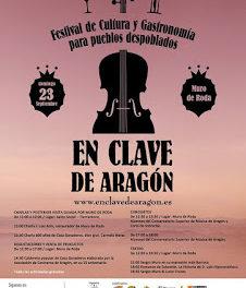 MURO DE RODA. En clave de Aragón, Festival para pueblos despoblados (domingo, 23)