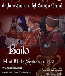 BAILO. Recreación de la estancia del santo Grial (del 14 al 16)