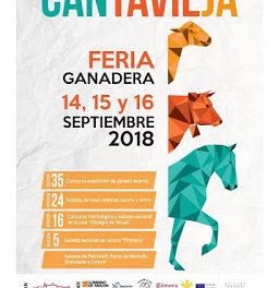 CANTAVIEJA. Feria agrícola y ganadera (del 14 al 16)