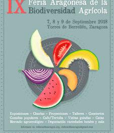 TORRES DE BERRELLÉN. Feria Aragonesa de la Biodiversidad Agrícola (del 7 al 9)