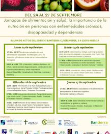 HUESCA. Jornadas de alimentación y salud (del 24 al 27)
