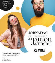 ZARAGOZA / HUESCA / CALATAYUD / BULBUENTE / BARBASTRO / JACA. Jornadas Gastronómicas del Jamón de Teruel (del 15 al 30 de septiembre)