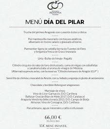 Menú especial del Día del Pilar en el Hotel Aragonia Palafox (viernes, 12)