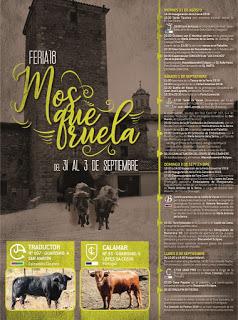 MOSQUERUELA. Feria comercial y ganadera (hasta el lunes, 3)
