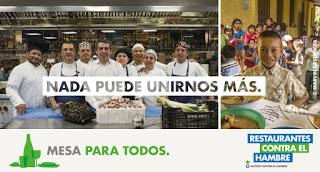 Restaurantes contra el Hambre (hasta el 15 de noviembre)