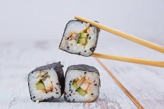 Taller de sushi (jueves, 27)