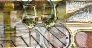 Cata de vinos blancos y conservas gallegas (jueves, 20)