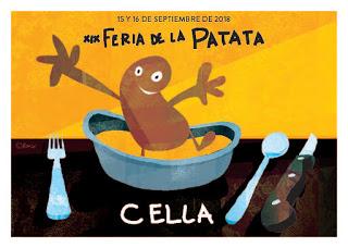 CELLA. Feria de la patata (días 15 y 16)