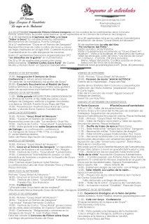 FUENDETODOS / CARIÑENA. Excursión enológica a Fuendetodos (domingo, 30)
