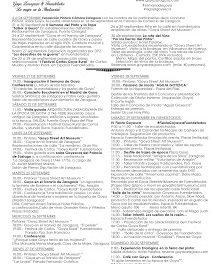 ZARAGOZA / FUENDETODOS. II Semana de Goya (del 21 al 30)