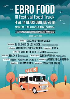 PILAR. Ebro Food. III Festival Food Truck (del 4 al 14)