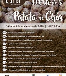 CHÍA. Feria de la patata de Chía (sábado, 3)