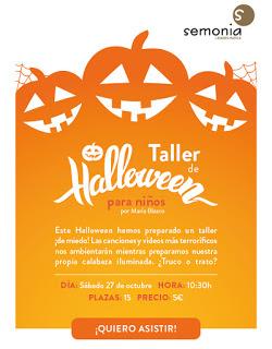 HUESCA. Taller de Halloween (sábado, 27)