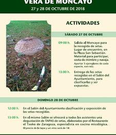 VERA DE MONCAYO. Jornadas micológicas (27 y 28 de octubre)