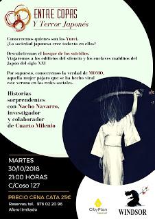 Cena cultural maridada (martes, 30)