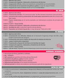 ALCORISA. Feria Alcorisa Muestra (del 19 al 21)