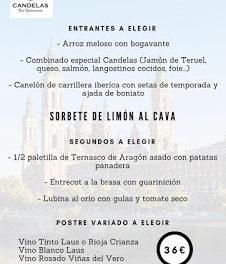 Menú especial del Día del Pilar en el Candelas (viernes, 12)