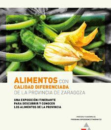 GALLUR. Exposición de Alimentos con calidad diferenciada en la provincia de Zaragoza (del 6 al 15 de noviembre)