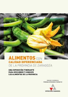 PEDROLA. Exposición de Alimentos con calidad diferenciada en la provincia de Zaragoza (del 25 de octubre al 6 de noviembre)