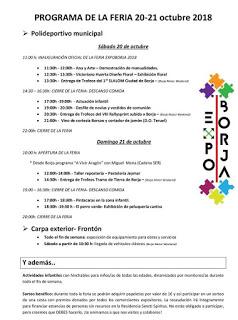 BORJA. Expo Borja (días 20 y 21)