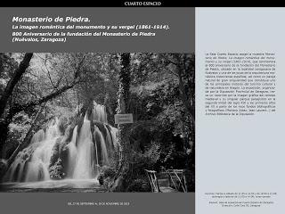 Exposición sobre el Monasterio de Piedra (hasta el 18 de noviembre)