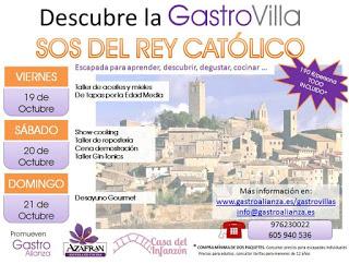 SOS DEL REY CATÓLICO. Fin de semana de patrimonio y gastronomía (del 19 al 21)