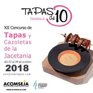JACA. XII Concurso de Tapas y Cazoletas de la Jacetania (del 22 al 28)