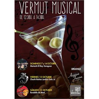 Vermú musical en LA TORRE PLAZA y Azarina Fusión (del viernes, 12, al domingo, 14)