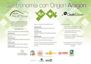 Gastronomía con Origen Aragón (miércoles, 17)