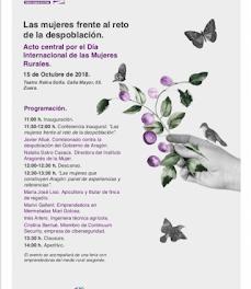 ZUERA. Día internacional de la mujer rural (lunes, 15)