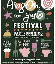 ARAGÓN CON GUSTO / BARBASTRO. Degustación de productos aragoneses (jueves, 25)