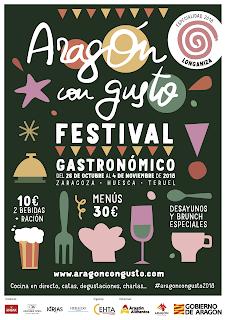 ARAGÓN CON GUSTO. Exposición (del 26 al 4 de noviembre)