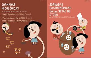 SIERRA DE ALBARRACÍN. Jornadas micológicas (días 20-21 y 27-28)
