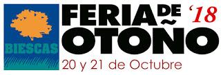 BIESCAS. Feria de otoño (días 20 y 21 de octubre)