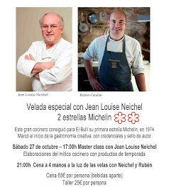 FUENTESPALDA. Cena y taller con Jean Louis Neichel (sábado, 27)
