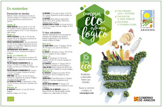 Tapas ecológicas con IDRIAS en LA SENDA TAPAS (Del viernes, 9, al miércoles, 14)