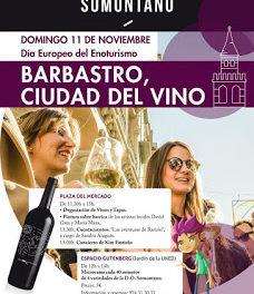 BARBASTRO. Ciudad del vino, Catando Somontano (domingo, 11)