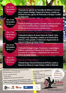 Bus del vino Calatayud (domingo, 25)