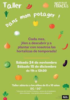 Taller de hortalizas para niños (sábado, 24)