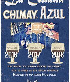 Cata de cervezas Chimay (miércoles, 28)