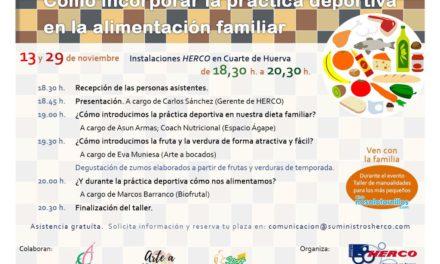 CUARTE. Seminario 'Cómo incorporar la práctica deportiva a la alimentación familiar' (jueves, 29)