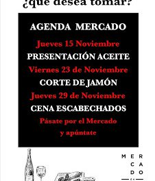 Corte de jamón a cuchillo en el MERCADO DE RIC (viernes, 23)
